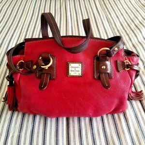 Dooney & Bourke Toldeo Winged Shopper Tote Red
